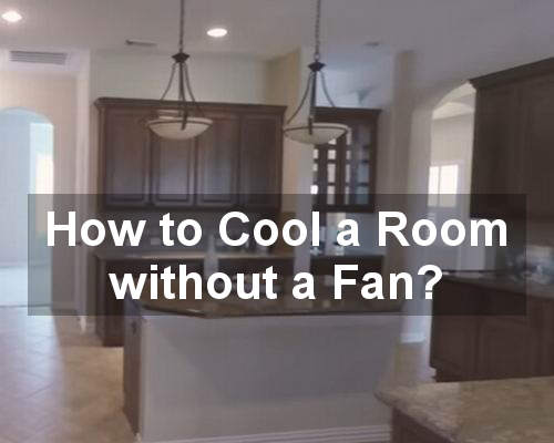 how to cool a room without a fan