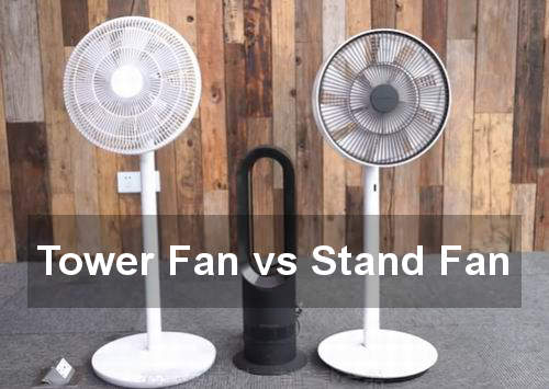 tower fan vs stand fan