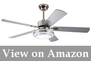 ceiling fan for cathedral ceiling