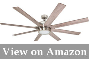 ceiling fan for slanted ceiling