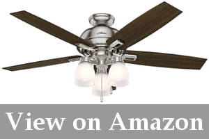 large ceiling fan with 3 lights