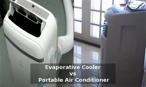 evaporative cooler vs portable air conditioner